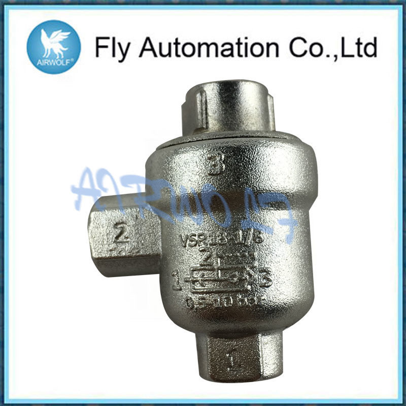 XQ Series Hand Slide Valve CE Approval / Quick Exhaust Valve With Memory Function