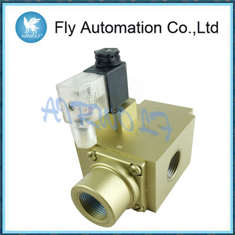 Yellow Three - Ring Pneumatic Control Valve GV-20  For Packing Machine