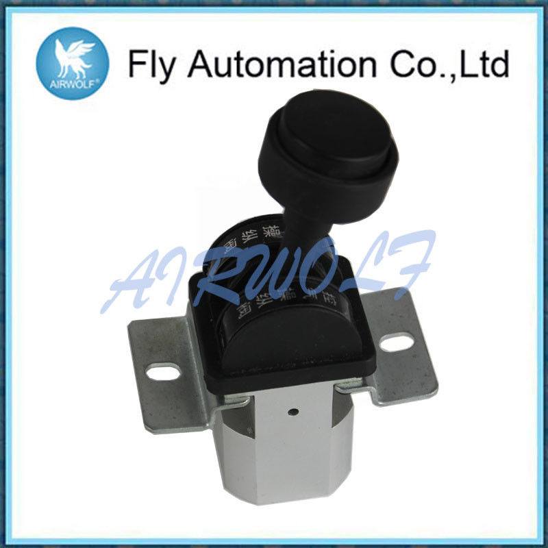 Aluminum Alloy Dump Truck Controls Valve MP301-8606010 With Mounting Bracket
