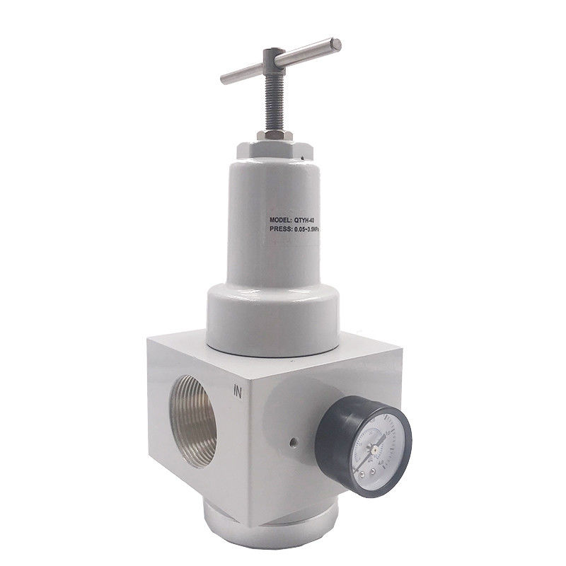 QTYH-40 3/2 Inch Air Preparation Units Electromagnetic Pressure Distribution Valve