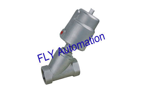 "1/2"" 178605,178681 PPS Actuator Threaded Port 2/2 Way Angle Seat Valve"